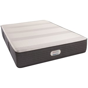 "Simmons BR Platinum Hybrid Crestridge Plush Queen 13"" Plush Hybrid Mattress"