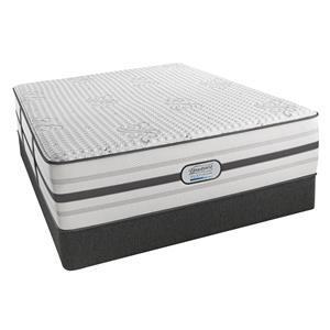 Simmons BR Platinum Hybrid Maddie Queen Luxury Firm Hybrid Mattress Set, Adj