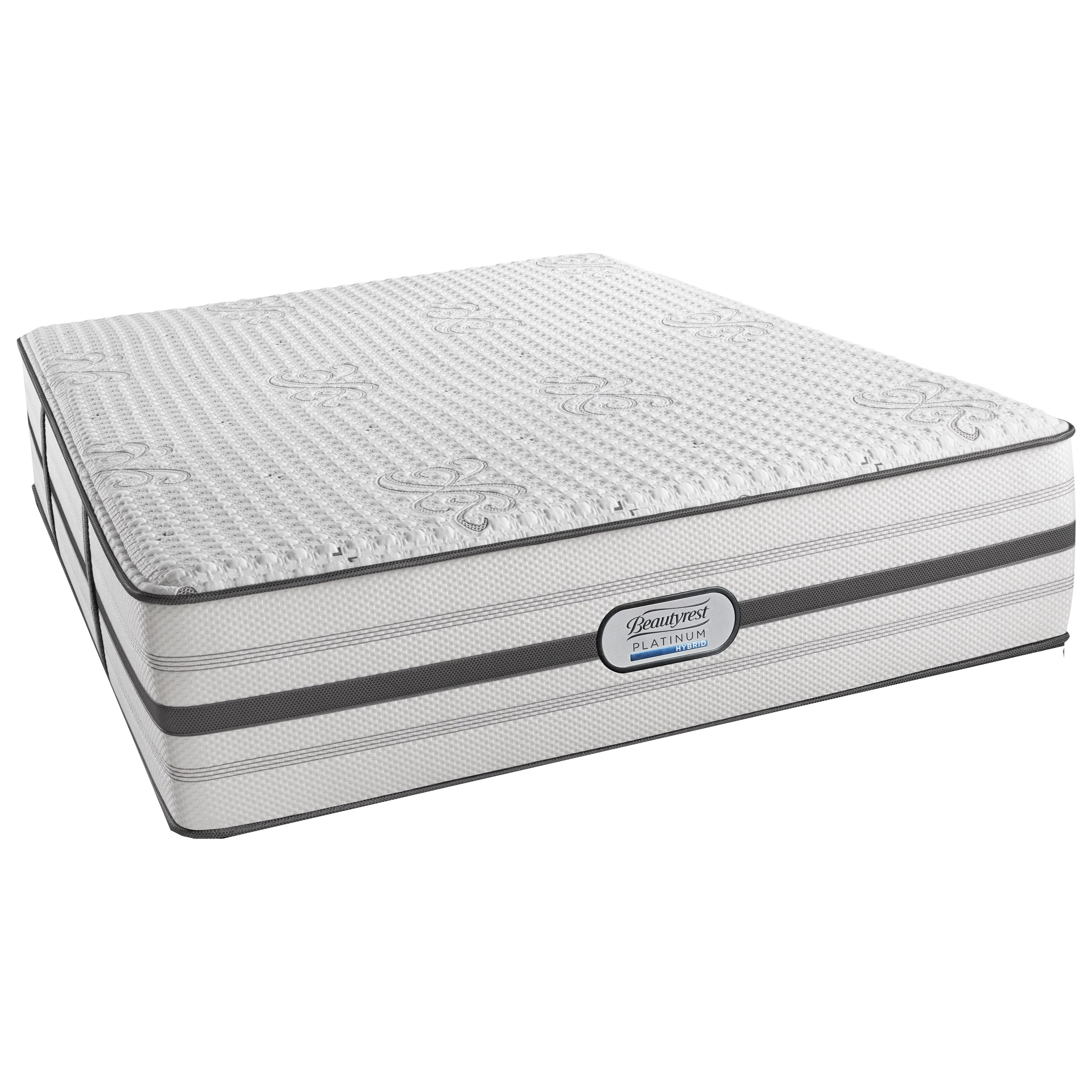 Beautyrest Platinum Hybrid Quinn Twin XL Ultra Plush Adjustable Set - Item Number: BRHLV4UPL-TXL+SM1-TXL