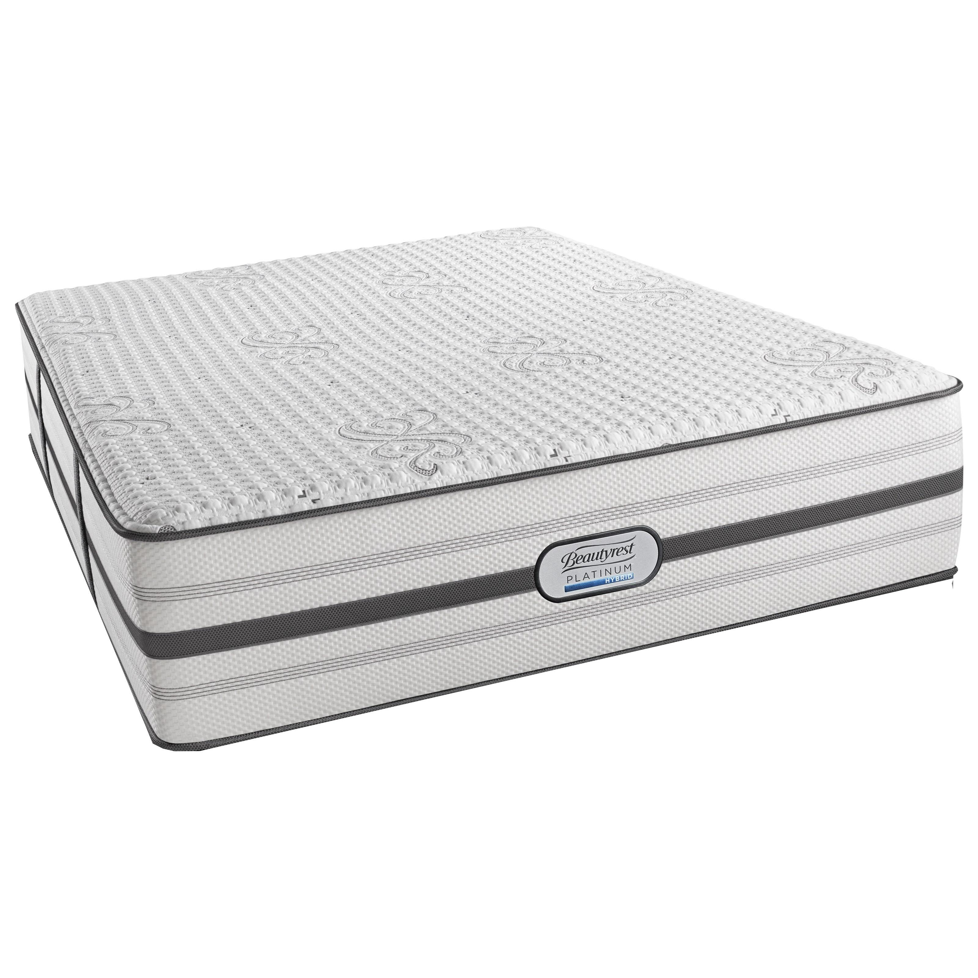 Beautyrest Platinum Hybrid Quinn Twin XL Ultra Plush Adjustable Set - Item Number: BRHLV4UPL-TXL+SM3-TXL