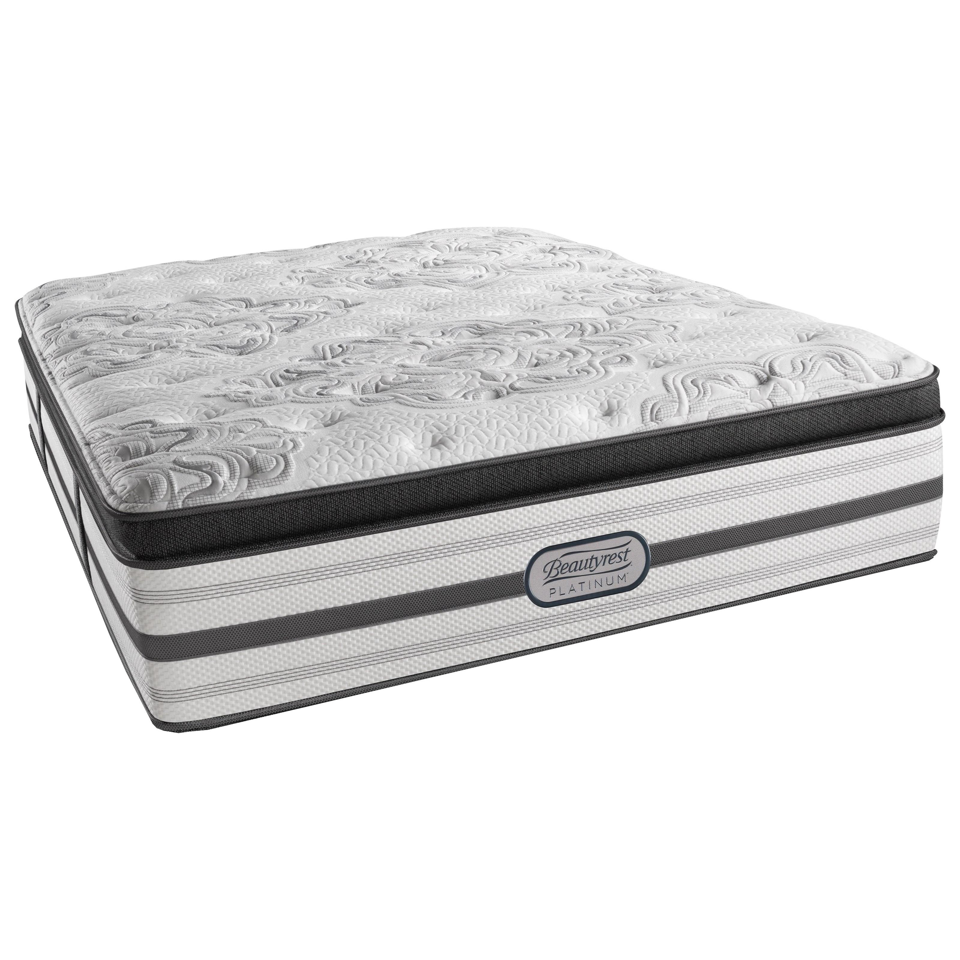 "Beautyrest Platinum Katherine King Luxury Firm Box PT 16 1/2"" Mattress - Item Number: LV4LFBT-K"