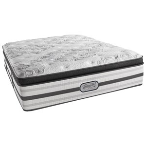"Simmons Silent Mist Twin Luxury Firm Box PT 16 1/2"" Mattress"