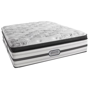 "Beautyrest BR Platinum Katherine Queen Plush Box PT 16 1/2"" Mattress"