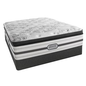"Beautyrest BR Platinum Katherine Queen Plush BT 16 1/2"" Mattress Set"