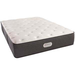 "Simmons BR Platinum Spring Grove Plush Queen 14"" Plush Platinum Mattress"