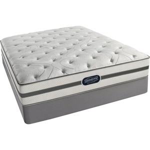 Simmons BR Ridgewood Lux FM Queen Luxury Firm Mattress Set, LP