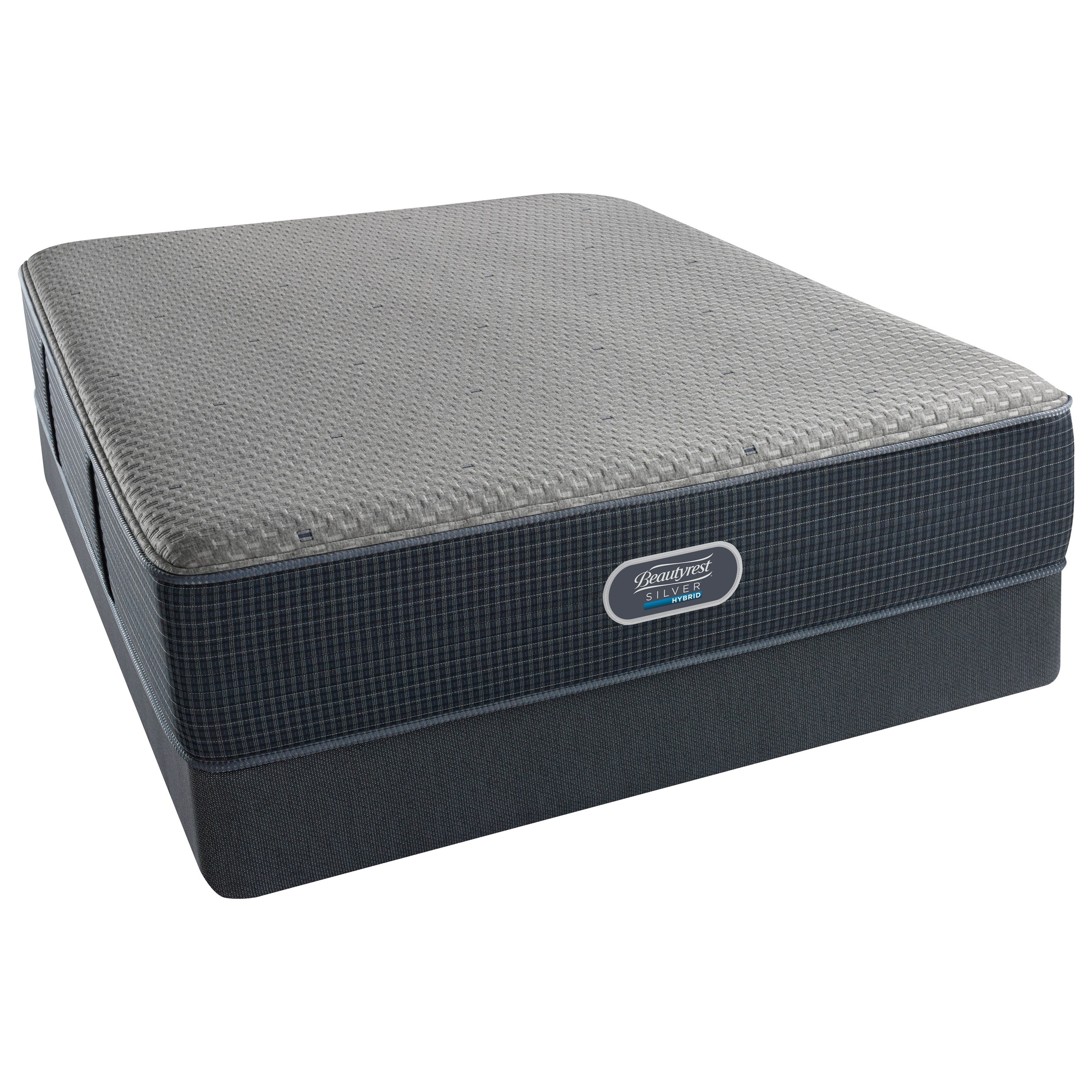 Beautyrest Silver Hybrid Cascade Mist Firm Beautyrest Silver Full Set - Item Number: 700601002-1030+700600254-5030