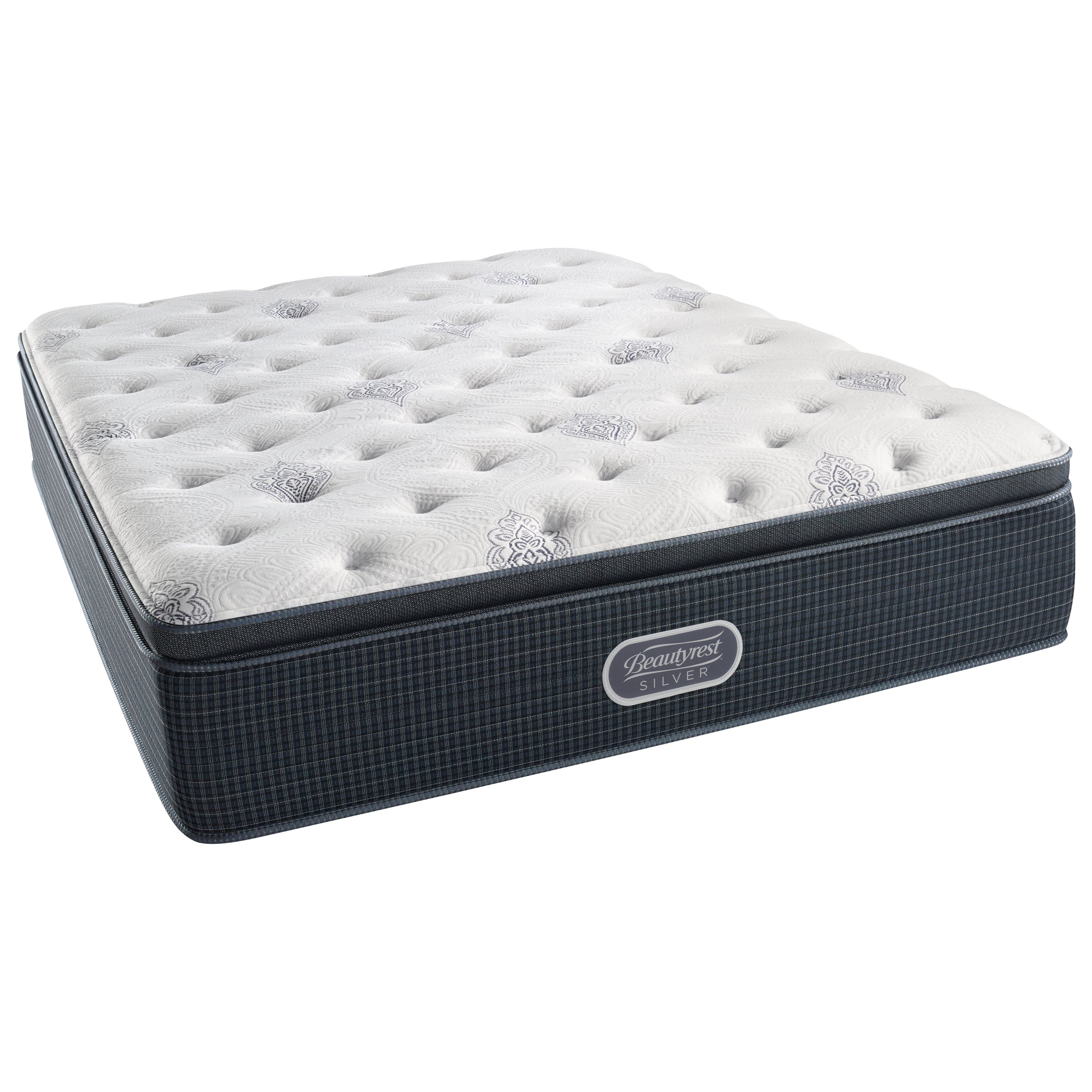 Beautyrest Silver Open Seas Luxury Firm Pillow Top King Adjustable Set - Item Number: 700600244-1060+2xSM1-TXL