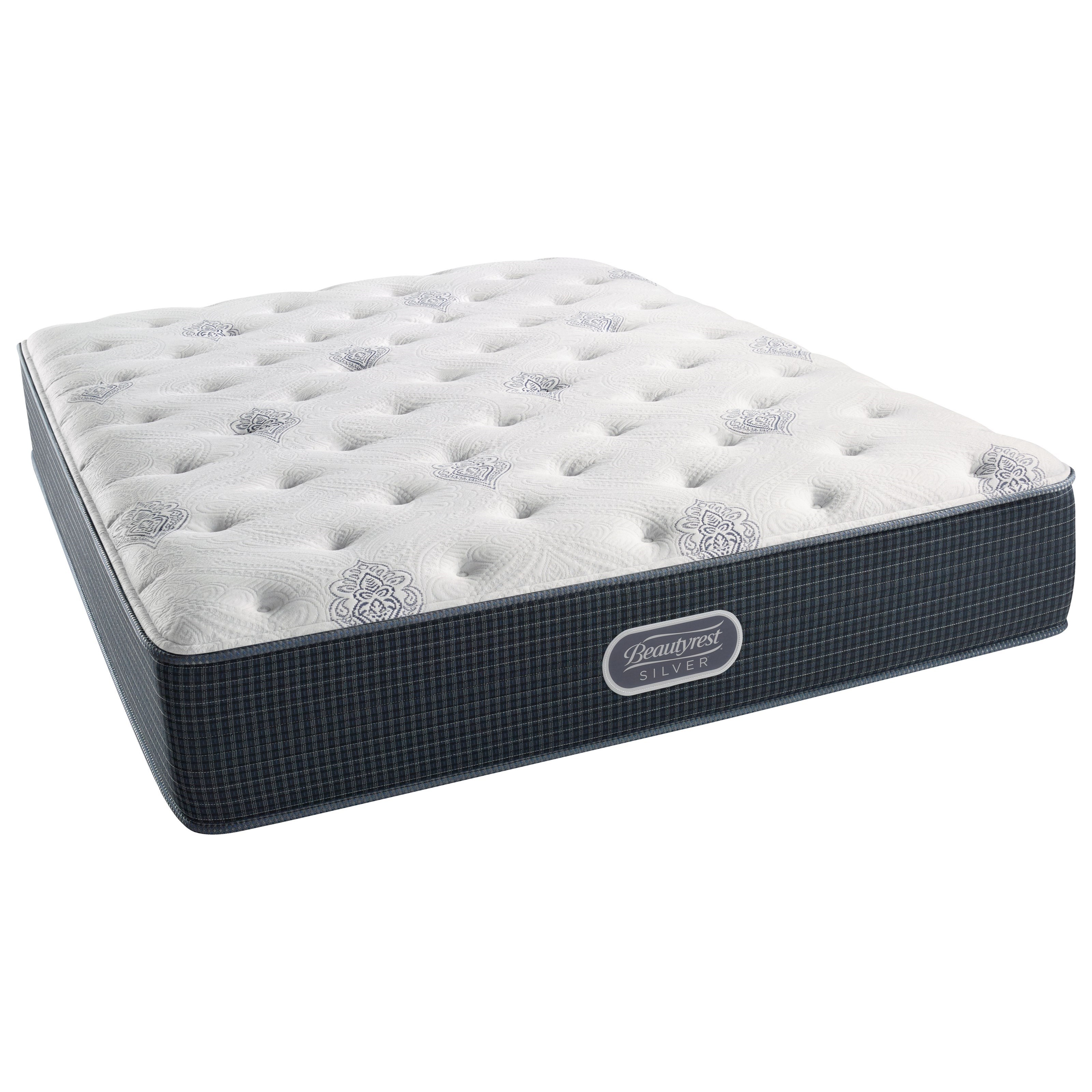 Beautyrest Silver Tidewater Plush King Mattress - Item Number: 700600240-1060
