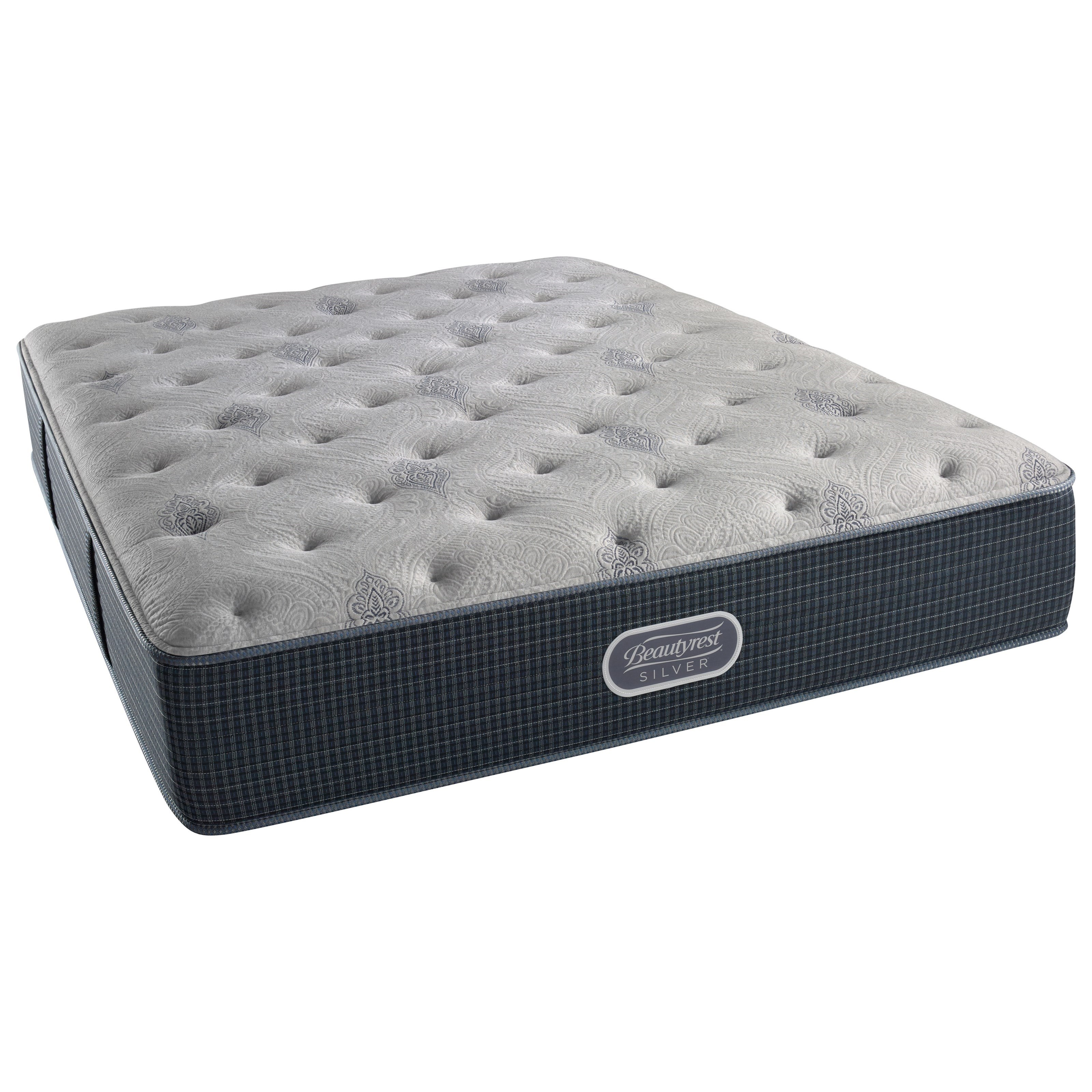 "Simmons Kingston Island King 13.5"" Plush Pocketed Coil Mattress - Item Number: 700600248-1060"