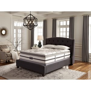 Simmons BR WC Kincaid Lux FM PT Queen Luxury Firm Pillow Top Matt Set, LP