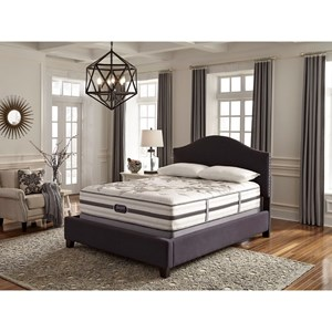 Simmons BR WC Kincaid Plush Queen Plush Mattress Set