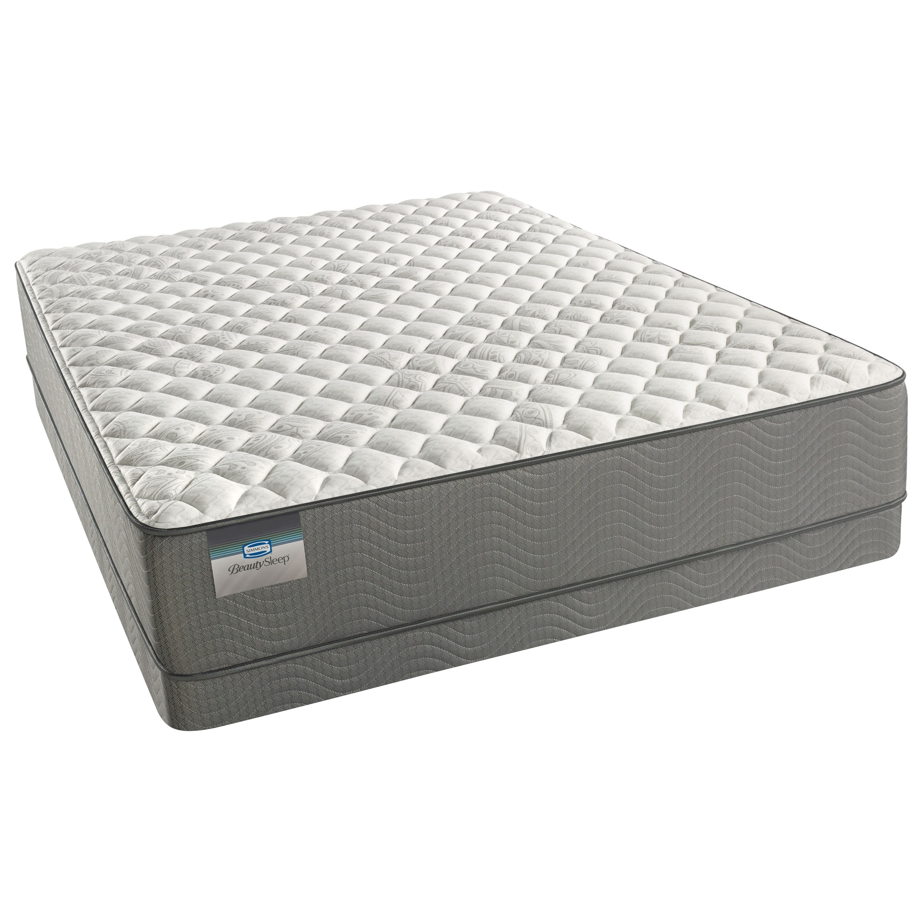 Beautyrest Beautysleep Beaver Creek Firm Beautyrest Beautysleep Twin XL Set - Item Number: 700600207-1020+700600212-6020