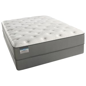 "Simmons Christiana Plush Queen 12"" Plush Mattress Set"