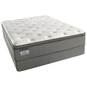 "Simmons Long Beach Lux Firm PT King 12 1/2"" Lux Firm PT Mattress Set"