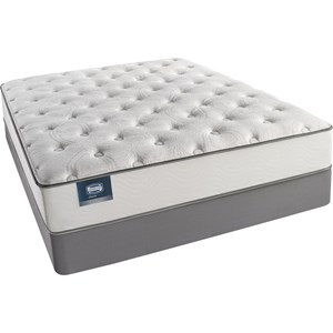 Simmons BS Palisades Plush Queen Plush Mattress Set, LP