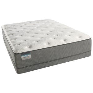 Beautyrest Beautysleep White Pass Luxury Firm  Queen Low Profile Set