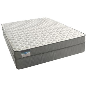 "Simmons Bonnie Firm Twin 6"" Foam Mattress Set"