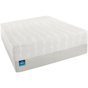 Simmons CURV - The Latest Thing Queen Firm Memory Foam Mattress Set