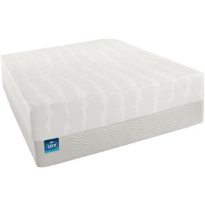 Simmons Curv Vogue  Twin XL Firm Memory Foam Mattress Set
