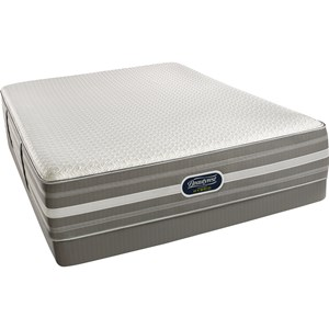 Simmons Recharge Hybrid Level 2 Marlee Queen Plush Mattress Set, LP