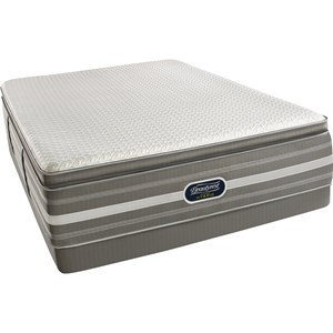 Simmons Recharge Hybrid Level 5 Ryleigh Queen Ultimate Luxury PT Mattress Set, LP