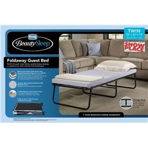 Simmons Simmons Bedding Foldaway Guest Bed