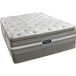 Simmons World Class Level 2 Jaelyn Queen L Firm PT Mattress Set