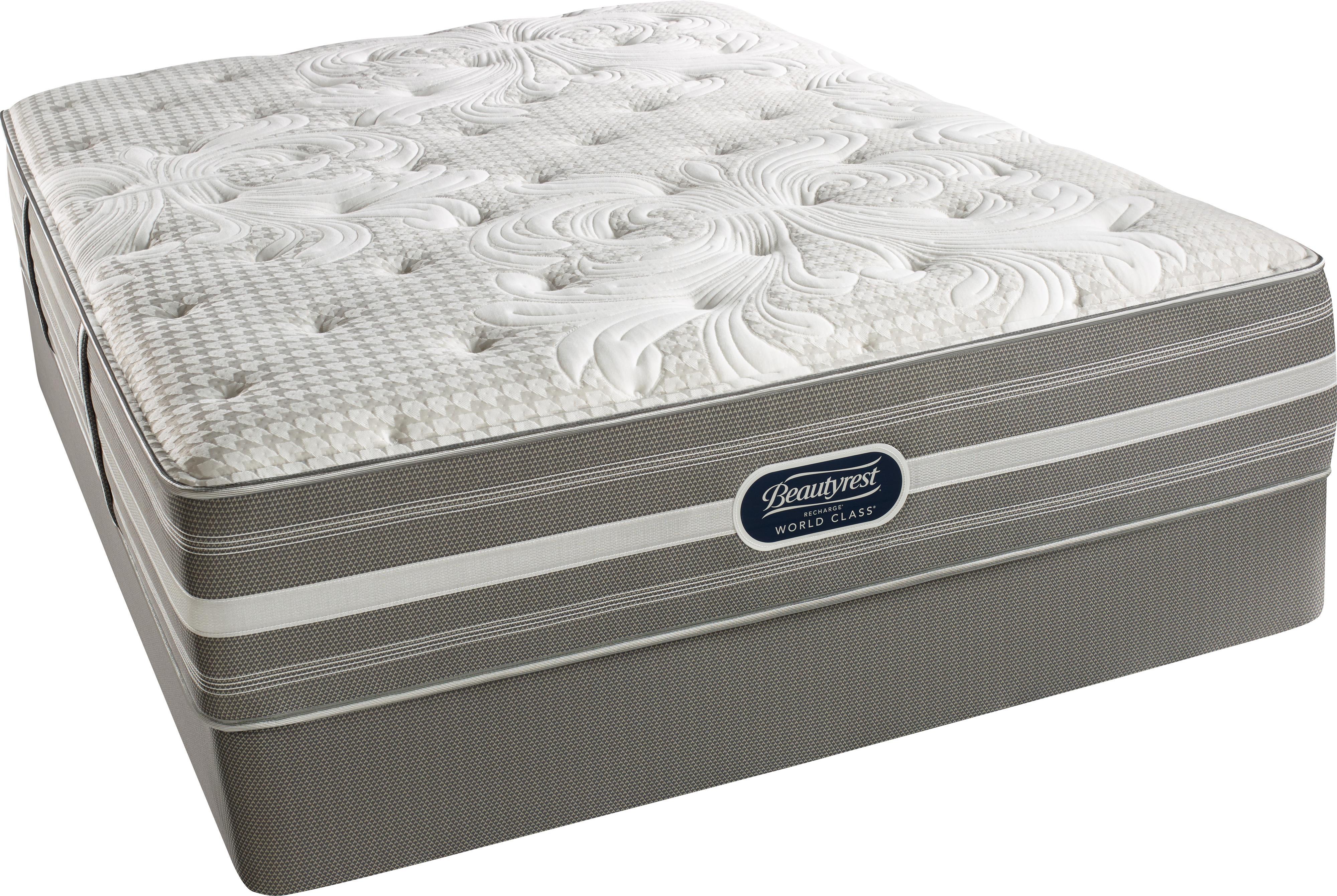 Simmons Bakerstand Twin Luxury Firm Mattress Set - Item Number: LuxuryFirm-T+50280T