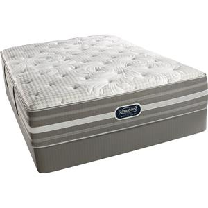 Simmons World Class Level 4 Jessica Queen Luxury Firm Mattress Set
