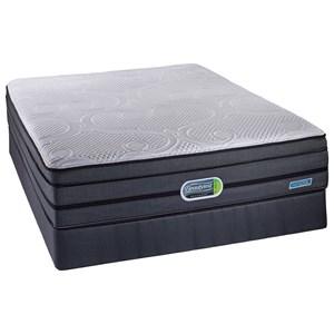 Simmons Beautyrest Hybrid Wynter Full Comfort-Top Firm Hybrid Mattress Set