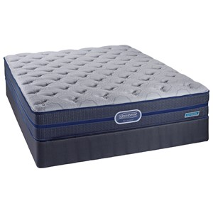 Simmons Beautyrest Recharge Camille King Firm Tight Top Coil Mattress Set
