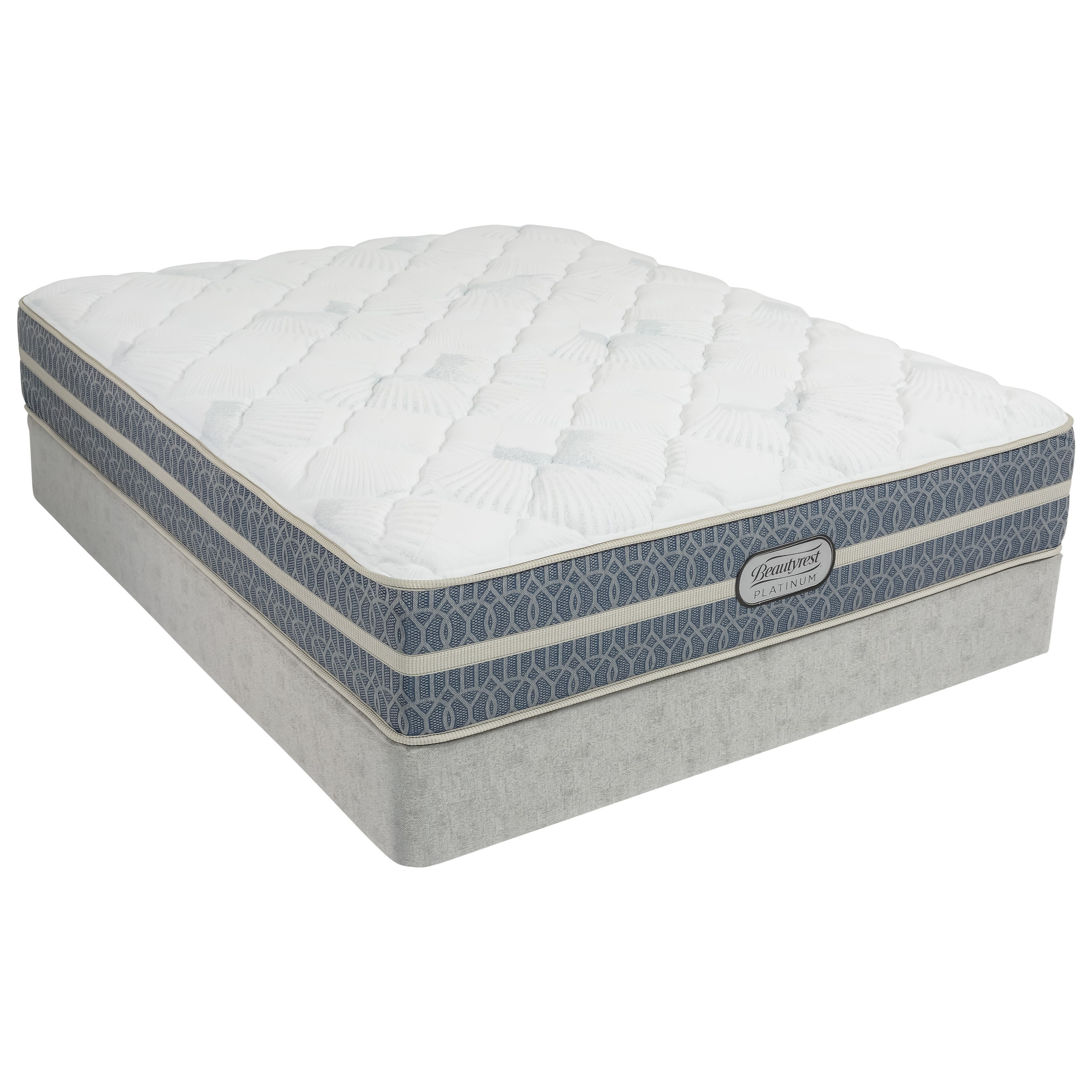 Twin XL Firm Hybrid Mattress Set
