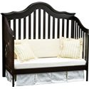 Simmons Kids Cradle Me Crib 'N' More with Toddler Guard Rail - Daybed Conversion Kit Included