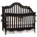 Simmons Kids Cradle Me Crib 'N' More with Toddler Guard Rail - Configured as a Standard Crib