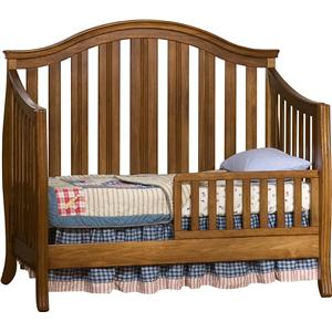 Simmons Kids New London Crib 'N' More With Toddler Guard Rail