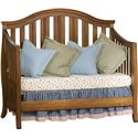 Simmons Kids New London Crib 'N' More With Toddler Guard Rail - Daybed Conversion Kit Included
