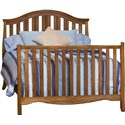 Simmons Kids New London Crib 'N' More With Toddler Guard Rail - Full Size Bed Rails Sold Separately