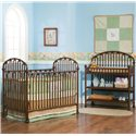 Simmons Kids San Tropez Crib - Shown With Dressing Table