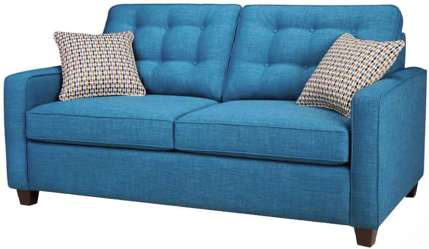 Carly Double Hide-A-Bed by Simmons Upholstery Canada at Jordan's Home Furnishings