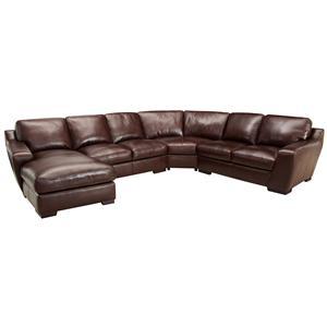 Simon Li 6948 Corner Sectional Sofa With Chaise