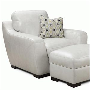 Simon Li Alpha Leather Match Chair