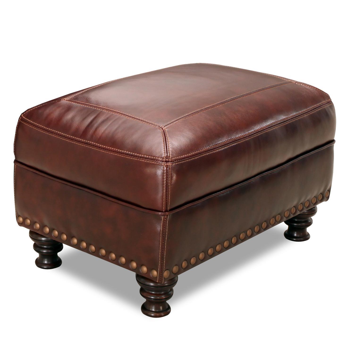 6978 Rectangular Ottoman by Simon Li at Furniture Fair - North Carolina