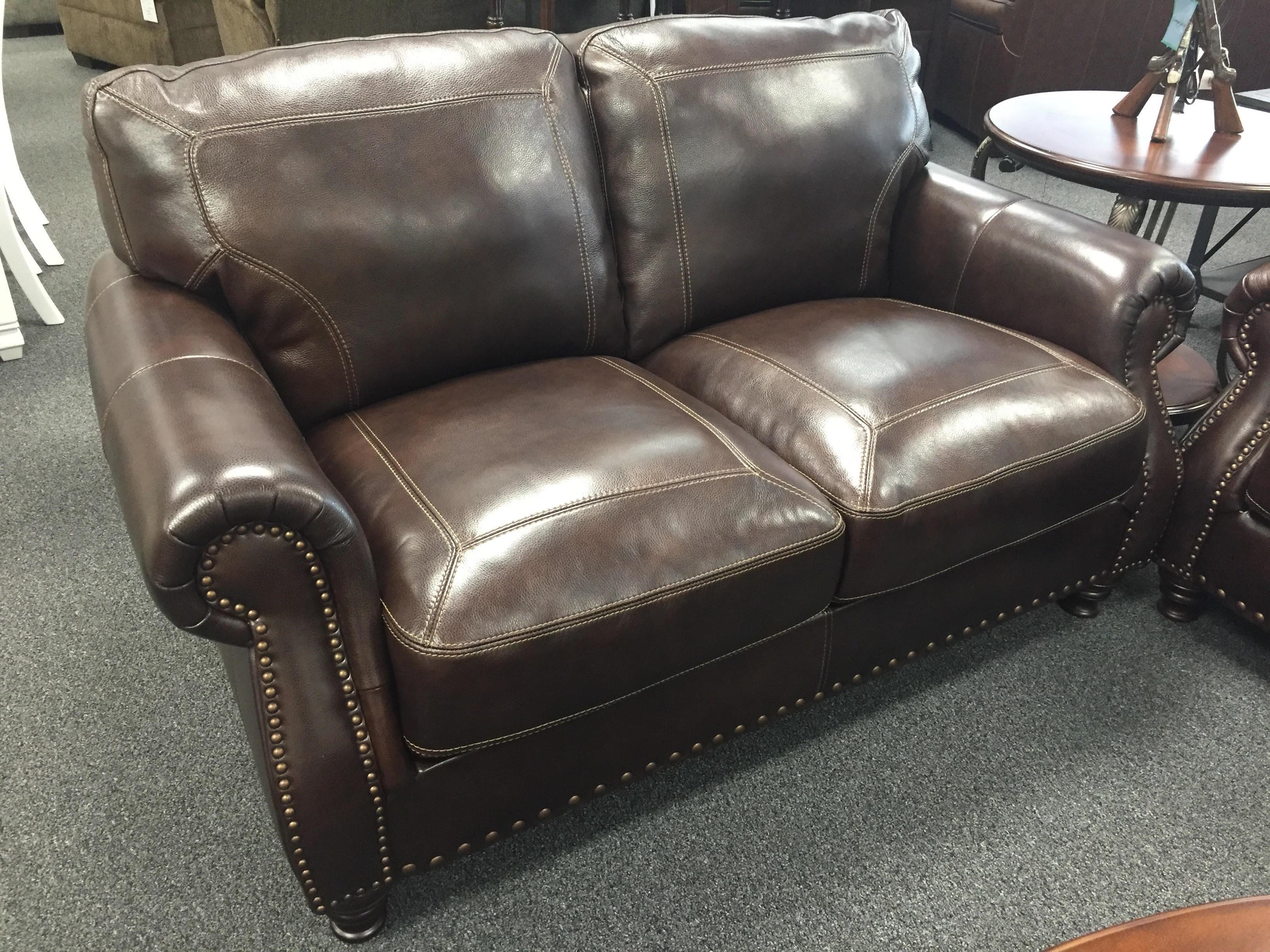 6978 Leather Loveseat by Simon Li at Furniture Fair - North Carolina