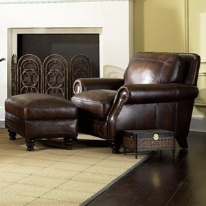 Simon Li Ashland Chair & Ottoman
