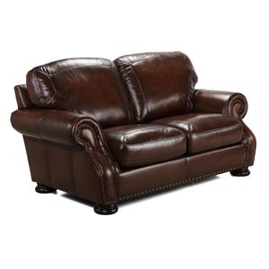 Simon Li H039 Leather Loveseat