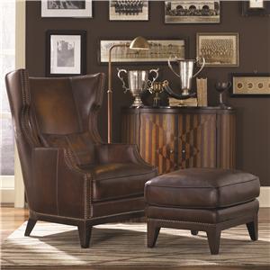 Simon Li H056 Chair & Ottoman