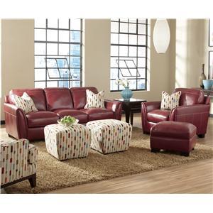 Simon Li J049 Stationary Living Room Group