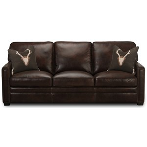 Simon Li J452 Leather Sofa