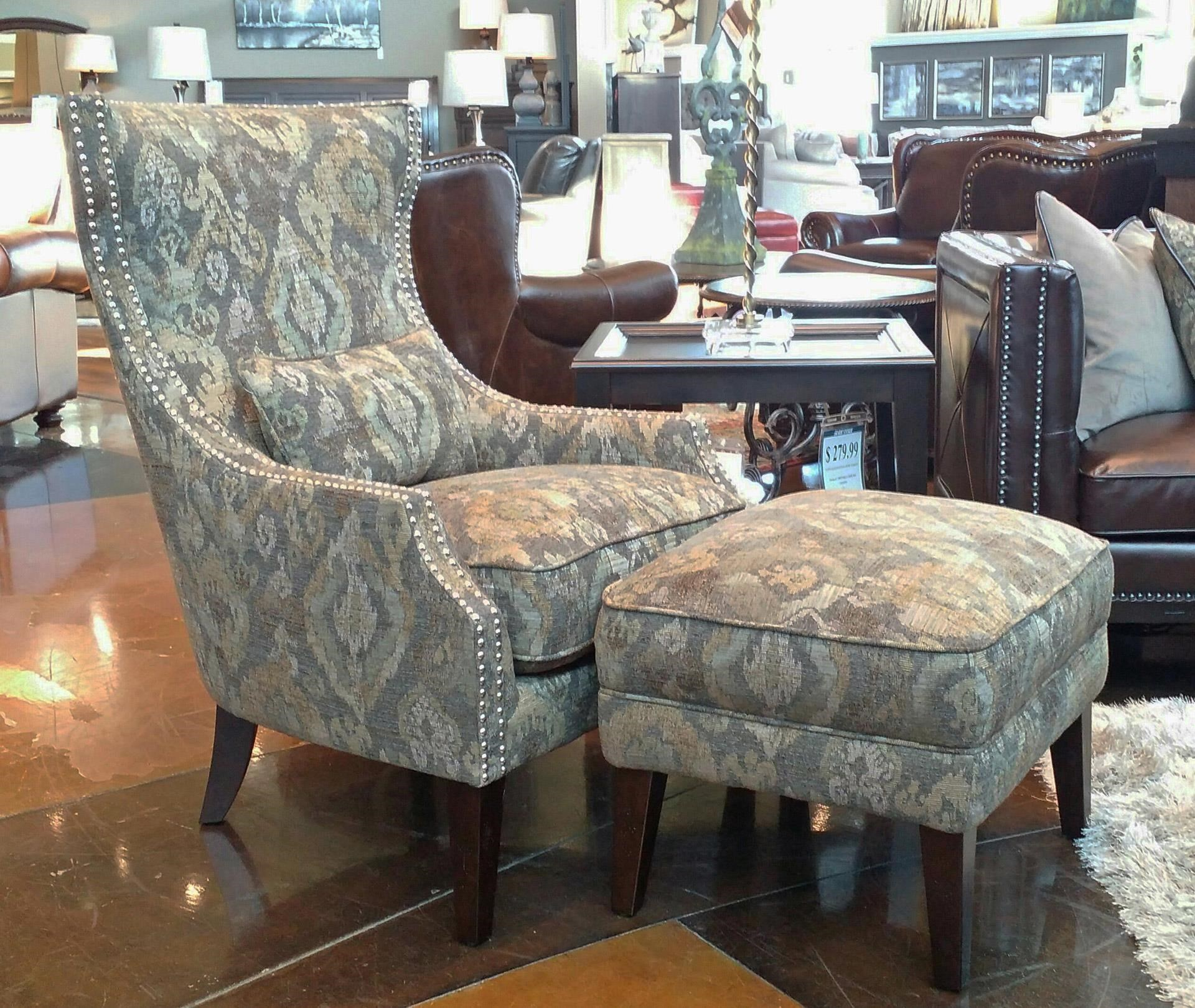 Menjikat Accent Chair & Ottoman